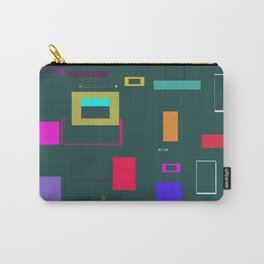 Squares and Rectangles Carry-All Pouch