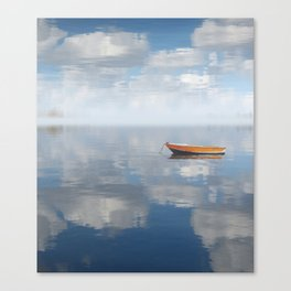 Reflected Shanti Canvas Print