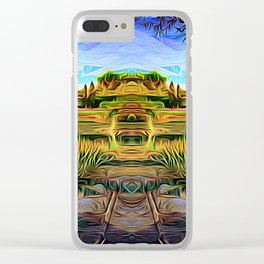 Garden of Riches Clear iPhone Case