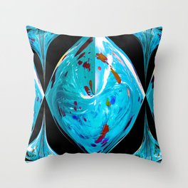 Total Distortion Throw Pillow