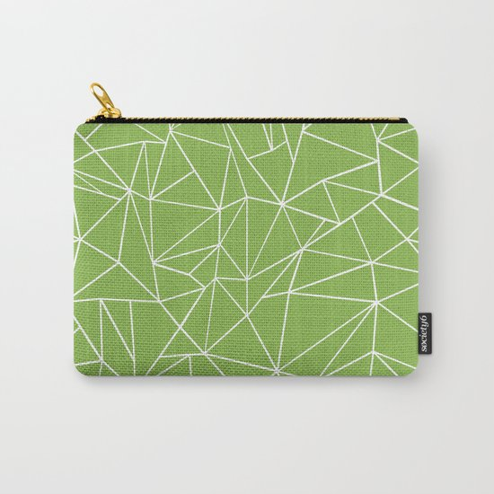 Ab Outline Greeny Carry-All Pouch