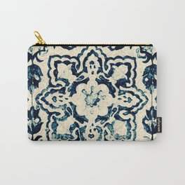 Azulejo II - Portuguese hand painted tiles Carry-All Pouch