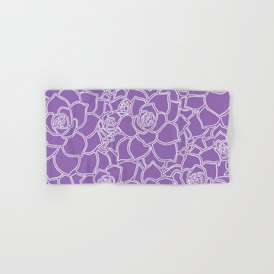 Amethyst Succulent Drawing by colorpopdesign