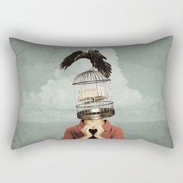 metaphorical assistance Rectangular Pillow
