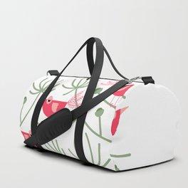 Resting Birdies - Pink Duffle Bag