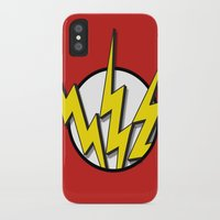 flash iPhone & iPod Cases featuring Flash by Msimioni