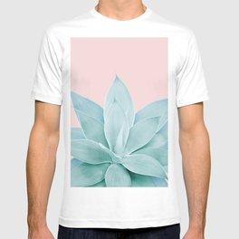 Blush Agave #4 #tropical #decor #art #society6 T-shirt