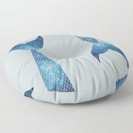 mermaid tail #*space* Floor Pillow