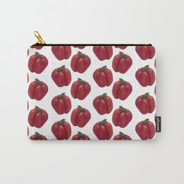 Red Bell Pepper pattern Carry-All Pouch