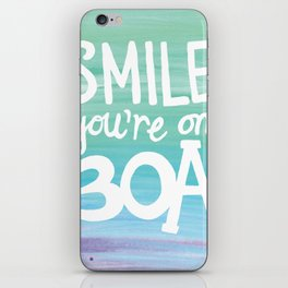Smile You're on 30A iPhone Skin