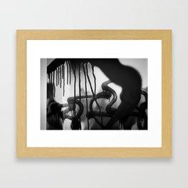 Drip Classic Framed Art Print