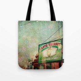 Caffe Trieste Tote Bag