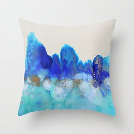 me and the sea Throw Pillow