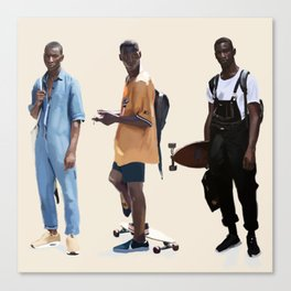Adonis Bosso Looks Canvas Print