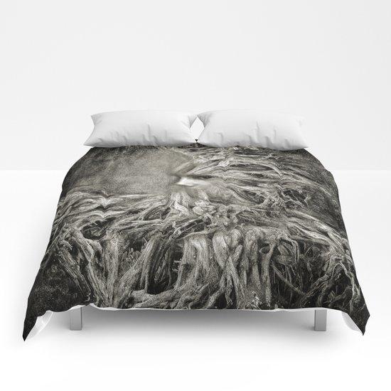 Greek goddess Gaia. Comforters