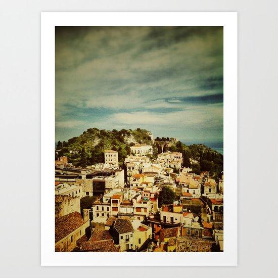 Taormina Art Print