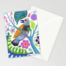 Bird Botanical Stationery Cards