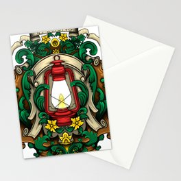 Red latern Stationery Cards