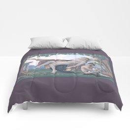 Dionysus and Satyr Comforters