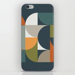 Mid Century Geometric 12/2 iPhone Skin