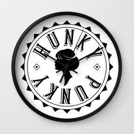 Hunky Punky - Tete #3 Wall Clock