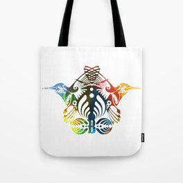 Bassnectar Family Crest (Color) Tote Bag