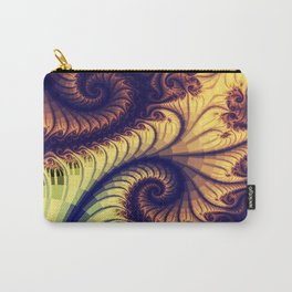 Abstract spirals and patterns Carry-All Pouch