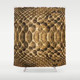 Snake skin pattern Shower Curtain