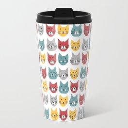 Kittens pattern Travel Mug