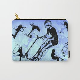 It's All About The Scooter! - Scooter Tricks Carry-All Pouch