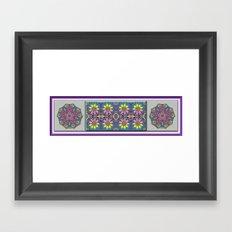Daffodil Garden Framed Art Print
