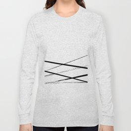 Line Art Long Sleeve T-shirt