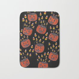 Candy Corn Mayhem Bath Mat