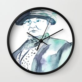 Mother Jones Wall Clock