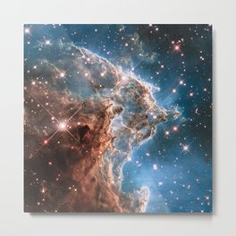 Monkey Head Nebula Metal Print