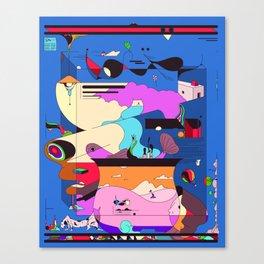Sushi Night Canvas Print
