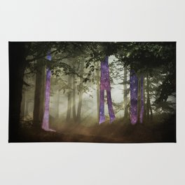 Forest warp out Rug