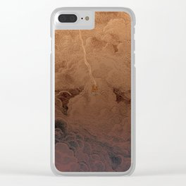 Chute dans Jupiter Clear iPhone Case