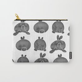 Bunny Butts - Black Palette Carry-All Pouch