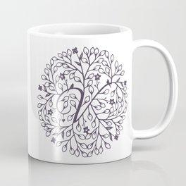 V - monogrammed initial V print Coffee Mug