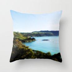 Tasmania's North Coast Throw Pillow