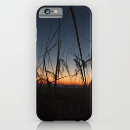 Sunset in the Dunes iPhone Case