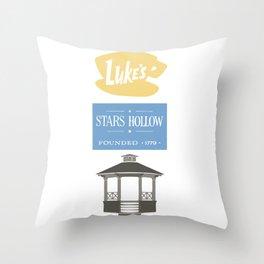 Luke's Diner Throw Pillow