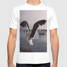 Rat of the Ocean Mens Fitted Tee White MEDIUM