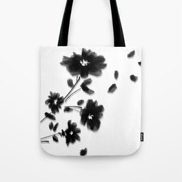 Large Daisy Design Tote Bag
