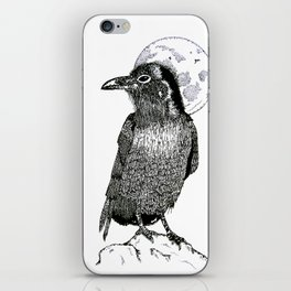 The Textured Crow iPhone Skin