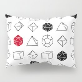 Dungeons and Dragons Dice Pillow Sham