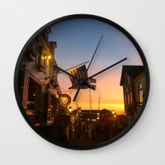 Clarke Cooke House at Sunset Wall Clock