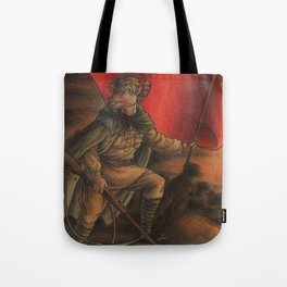 Soldier on Tote Bag