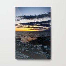 Rhode Island Sunset Metal Print